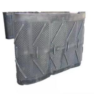 Дробемётная лента 42203, : 800-2200 мм* 3000-4900 мм Диаметр отверстий-8-12 мм Толщина 22-24 мм