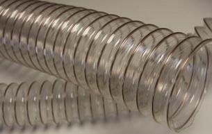 Воздуховод из полиуретана PU толщина стенки 1.4 мм