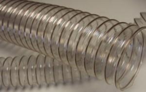 Воздуховод из полиуретана PU Ду100 мм толщина стенки 1.4 мм