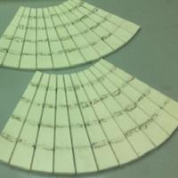Плитка 50 х 50 х7 мм радиусная R- 410 мм