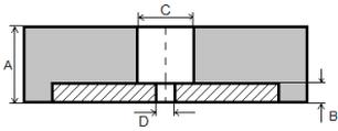 Квадратные плиты 30*5*300*300 мм
