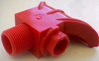 Разбрызгиватель полиуретановый с распылителем Ду 6 м и резьбой наружной 3/4.