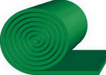 Очищающая резина TRS GREEN SKIRT — 15*250*10000 м