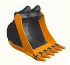 Ковш стандартный ,ширина 1600 мм,V-1.35 м 3 . 6 зуб