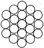 Спиральный канат типа ТК ГОСТ 3064-80, Ду -2мм , 1860 (190) Н/мм2