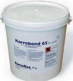 Эпоксидная двухкомпонентная заливка для дробильных установок Korrobond 65