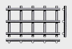 Вид плетения: форма F сварная сетка