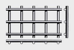Проволочное сито тип форма F —сварное сеткой 15*5 мм