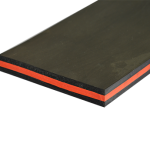 Резина скребковая TRIPLE SANDWICH SCRAPER 60-40-60 50х250х10000 мм