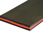 Резина скребковая TRIPLE SANDWICH SCRAPER 60-40-60 20х150х10000 мм