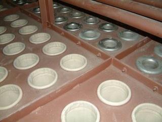 Рукава с корпусами для фильтрации пыли