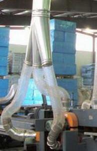 Воздуховод из полиуретана Ду 180 мм PU толщина стенки 0.9 мм