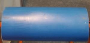 Ролик ПВХ D 114 L 350 мм ,Диаметр вала 20 мм