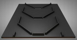 Лента конвейерная 500 EP400/3 3/2 C25 P450 Open U