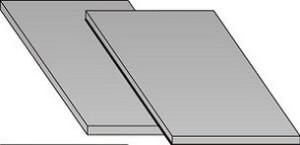 РП 600*1000*40 мм толщина метала 5 мм