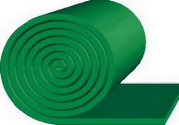 Очищающая резина TRS GREEN SKIRT — 25*200*10000 м