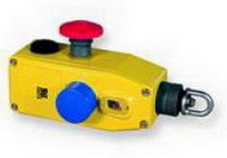 Тросовый выключатель ER5018 возможная длина троса до 40 метров .