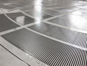 Щелевое сито , размер Ду 1300 мм поставляется в виде сегментов и закрепляются на подситнике , зазор щелевой 0,6 мм.