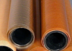Лакоткань фторопластовая- от 0,18 мм по ТУ 301-05-422 - 980 мм