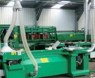 Воздуховод из полиуретана для оборудования по обработке древесины стенка 1.4 мм