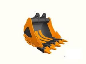 Ковш скальный 16-20 тон,ширина 1300 мм,V-0.83 м3, 5 зуб.