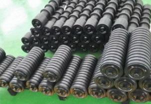Ролики с амортизирующими кольцами прямоугольного профиля , РП 127*137*50 мм