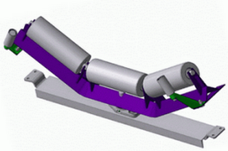 Роликоопора ЖЦГ 140-159-30 для ширины ленты 1200 мм