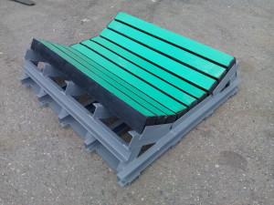 Демпферный стол с балками