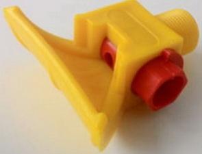Форсунка полиуретановая с вкладышем распылителя Ду 6 мм.
