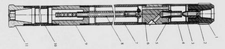 Одинарный эжекторный колонковый снаряд типа ОЭС