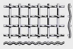 Проволочное сито с квадратными ячейками