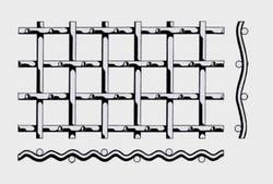 Проволочное сито тип форма В —сложнорифленной сеткой 2*1 мм