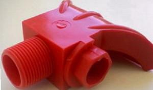 Разбрызгиватель полиуретановый с распылителем Ду 6 мм и резьбой наружной 34