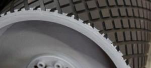 Резина футеровочная TRS MINI 60 на барабане 10*2000*10000мм, Ромб 33 мм × 17 мм,