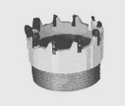 Твердосплавная коронка типа СА6