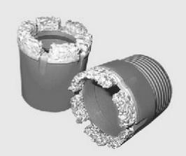 Твердосплавные коронки со спёками Ду 131 мм