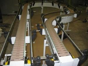 Модульный цепной конвейер