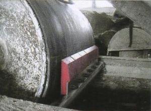 Скребок-очиститель полиуретановый (4 сигментов , ширина-480 мм)