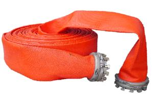 Плоскосворачиваемый рукав большого диаметра