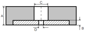 Квадратные плиты 15*3*300*300 мм