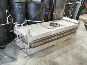 Пресс для стыковки ковейерных лент 1550*500 мм
