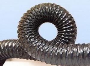 Воздуховоды из термостойкого ПВХ -0.4 мм, Ду 100 мм,10000 мм.