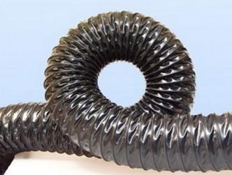 Воздуховоды из термостойкого ПВХ -0.4 мм, Ду 70 мм,10000 мм.