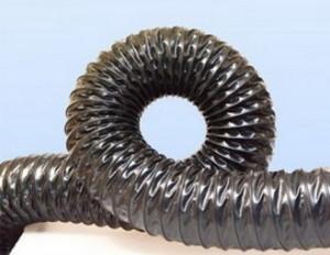 Воздуховоды из термостойкого ПВХ -0.4 мм, Ду 250 мм, 10000 мм.