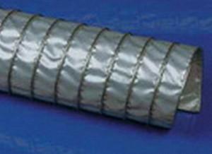 Высокотемпературный воздуховоды Clip Teflon-V.Ду -160 мм, L-6000 мм