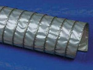 Высокотемпературный воздуховоды Clip Teflon-V .Ду -220 мм, L-6000 мм