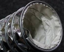 Химически стойкий воздуховод Clip Teflon-V Ду 150 мм
