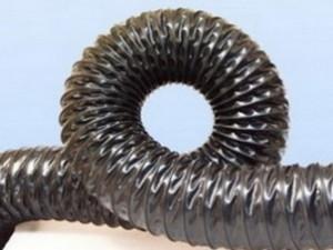 Воздуховоды из термостойкого ПВХ -0.4 мм, Ду 125 мм, 10000 мм.
