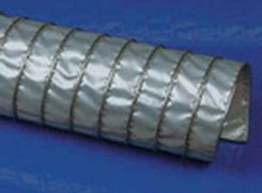 Высокотемпературный воздуховоды Clip Teflon-V .Ду -350 мм, L-6000 мм