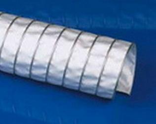 Воздуховод температуростойкий Clip SIL — 270°С Ду 110 мм,L-6000 мм.